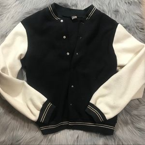 Vintage Baseball Fleece with Tiger Patch